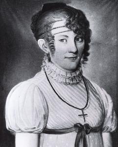 Portret van Judith Richmund Louise van der Heyden tot Baak (1796-1852)