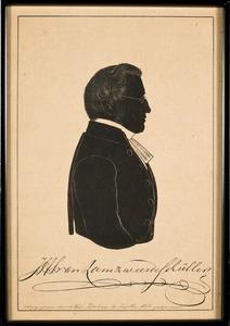 Portret van Jan Hendrik Sybillus van Lamzweerde Schuller (1808-1881)