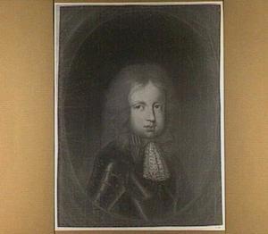 Portret van een jongen getooid met de orde van het Gulden Vlies