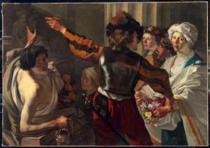 Een offerande aan de Romeinse godin Ceres