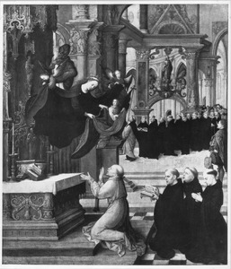De verschijning van de H. Maagd Maria aan de H. Ildefonso