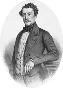 Portret van Christiaan Dirk Schuller (1820-1860)