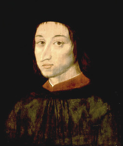 Portret van Rudolf Agricola (Roeloef Huisman, 1443-1485)