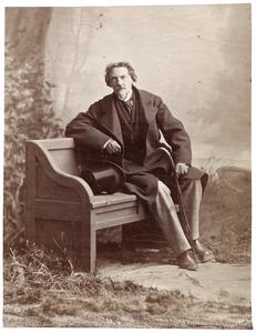 Portret van Alexander Ver Huell (1822-1897)