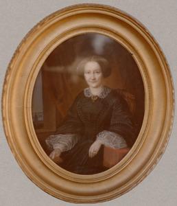 Portret van Maria van Hoboken (1808-1876)