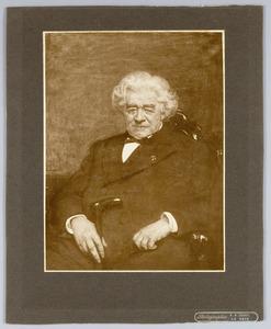 Portret van Jacob Heinrich Krelage (1824-1901)