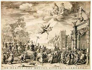Allegorische triomftocht van Frederik Hendrik van Oranje-Nassau (1584-1647)