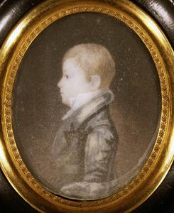 Portret van Wibo Bernhardus Buma (1807-1848)