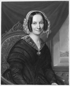 Portret van Cornelia Margaretha van Weede (1808-1870)