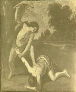 Kaïn vermoordt  Abel (Genesis 4:8)