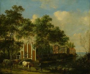 Het landhuis van burgemeester Nicolaas Pancras
