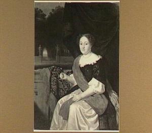 Portret van Sara van Peene(n), (overleden 1695 )