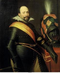 Portret van Daniel de Hertaing (....-1625)