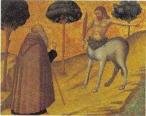 De H. Antonius Abt ontmoet de centaur