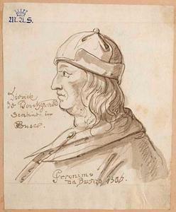 Portret van een man, genaamd Dierck Borchgrave (....-1519)