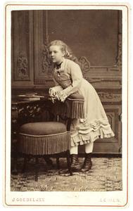 Portret van Marietje van der Heide
