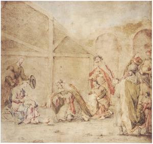De aanbidding van de koningen (Mattheus 2:1-12)