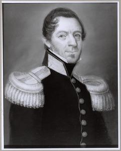 Portret van Dirk van der Schalk (1796-1847)