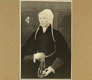 Portret van Ermgard Dirksdr. de Groot (1493-1566)