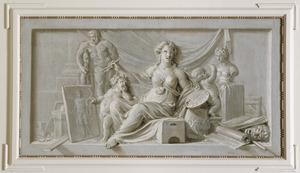 Allegorie op de schilderkunst