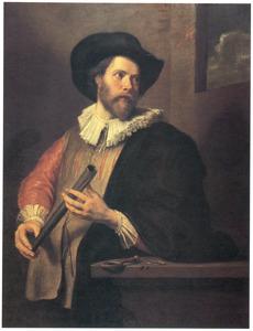 Portret van een onbekende astronoom