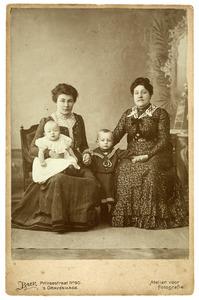 Portret van familie de Lavieter-Hardenberg