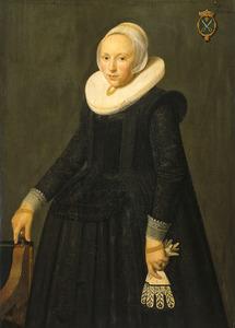 Portret van Tryntje Tysdr. van Nooy (1607-1646)
