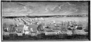 Beschieting van Duinkerken, door een verenigde Nederlandse en Engelse scheepsmacht, 11 augustus 1695