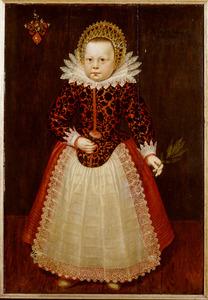 Portret van een meisje, mogelijk Sophia Everwijn (?-?)