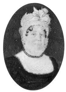 Portret van Maria Catharina van Boetzelaer (1771-1836)