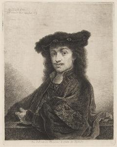 Portret van een man met baret