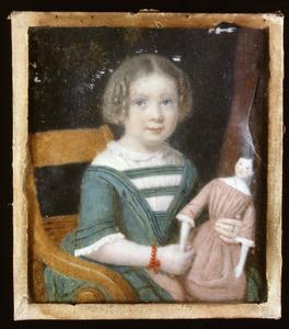 Portret van Maria Petronella van Citters (1848-1926)