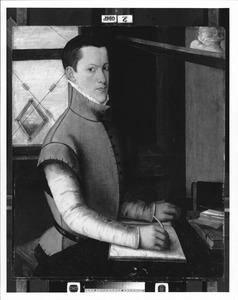 Portret van een man, waarschijnlijk Abraham de Bruyn (1640-1587)