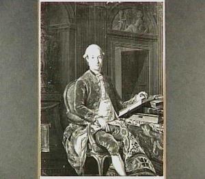 Portret van Johan Andreas Cunaeus (1743-1797)