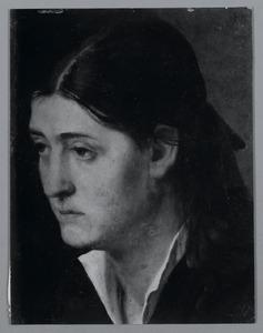 Portret van een Wilhelmina Cornelia  Pet-Meiners (1856-?)