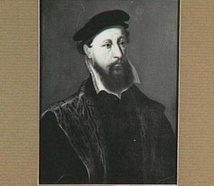 Portret van Gerrit van Hoogeveen (1524-1580), echtgenoot van Eva van Quackenbosch Aelbrechtsdr.