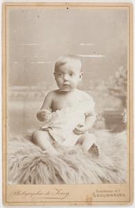 Portret van een kind, mogelijk Johan Polet (1894-1971)