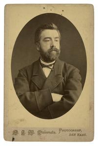 Portret van de schilder Anton Mauve