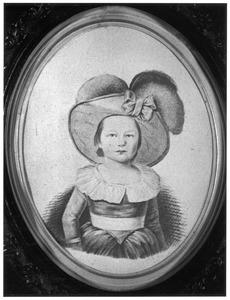 Portret van Maria Adriana Clara Lucretia Barbara van Hugenpoth tot Aerdt (1784-1817)