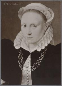 Portret van een 18-jarige vrouw