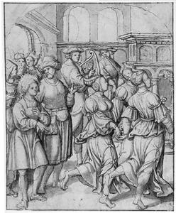 Voorstelling uit het leven van de H. Vitus