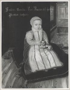 Portret van Emilia Secunda Antwerpiana van Oranje-Nassau (1581-1657)