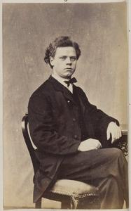 Portret van een man uit familie De Jonge of uit familie De Lange