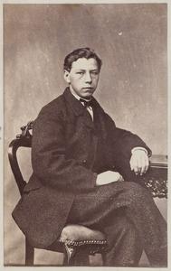 Portret van een man uit familie Jaarsma