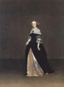 Portret van Catrina Lueninck (1635-1780)