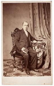 Portret van Hendrik van Oordt (1793-1864)