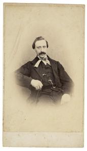 Portret van Wilhelmus Jacobus Arnoldus de Witt Huberts (1829-1909)