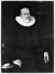Portret van een man, waarschijnlijk Johan van den Sande (1541-?)