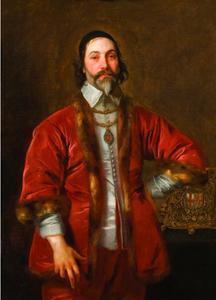 Portret van Sir Walter Crane, kanselier van de Orde van de Kousenband