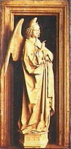 De annunciatie: de aartsengel Gabriël